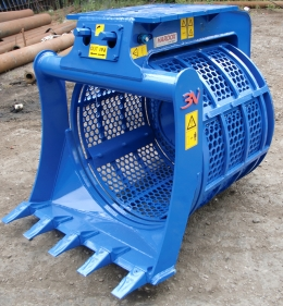 BENATI 5.20B excavator rotary screening bucket